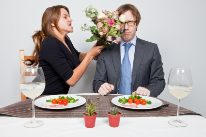 Dating Humor: Double Dinner Date